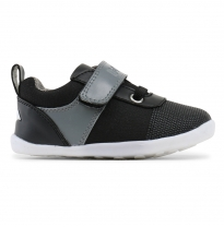 bobux - step-up edge sneaker, black