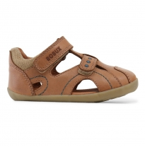 BOBUX - step-up chase sandal, caramel