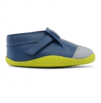 bobux - step-up xplorer origin one, cobalt/citrus
