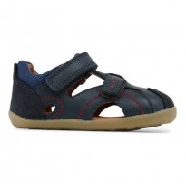 BOBUX - step-up chase sandal, navy