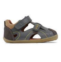 BOBUX - step-up chase sandal, smoke