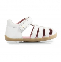BOBUX - step-up jump sandal, white