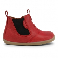 BOBUX - step-up jodphur boot, red