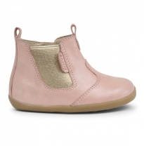 BOBUX - step-up jodphur boot, blush shimmer