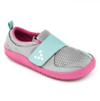 VIVOBAREFOOT - kids mini primus, grey/pink