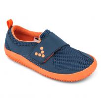 VIVOBAREFOOT - kids mini primus, navy/orange