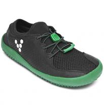 VIVOBAREFOOT - kids primus, black/green