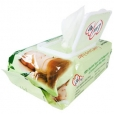 Luv me - bamboo biodegradable wipes, 80pack
