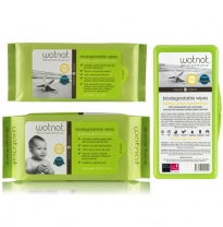 wotnot - biodegradable wipes