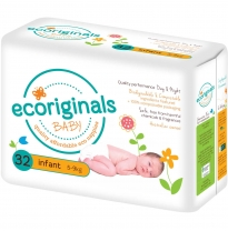 ecoriginals - eco disposable nappies, infant 5-9kg