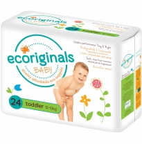 ecoriginals - eco disposable nappies, toddler 10-15kg