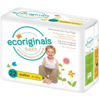 ecoriginals - eco disposable nappies, walker 14-20kg