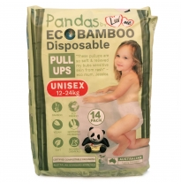 Luv me - eco disposable pull ups, 12-18kg