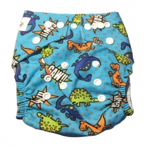 Luv me - swim nappy, dinosaur