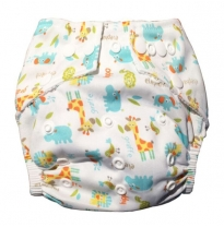 Luv me - swim nappy, safari