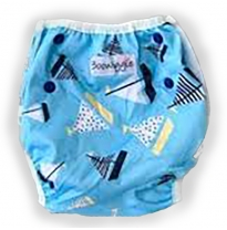 Boowiggie - swim nappy, sailing