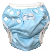 cushie tushies - swim nappy, seafoam