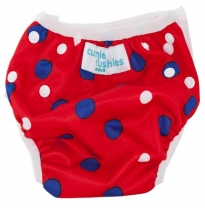 cushie tushies - swim nappy, nautical