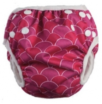 cushie tushies - swim nappy, mermaid