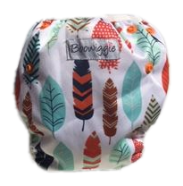 Boowiggie - swim nappy, autumn