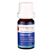 RARE EARTH OILS - essential oil blend, breathe 10ml