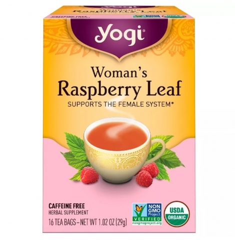 YOGI TEA - raspberry leaf