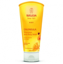 WELEDA Baby - calendula shampoo & body wash, 200ml