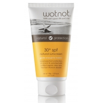 wotnot - 30 spf natural family sunscreen, 150g