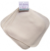 Bio Bums - bamboo fleece wipes, 6 pack