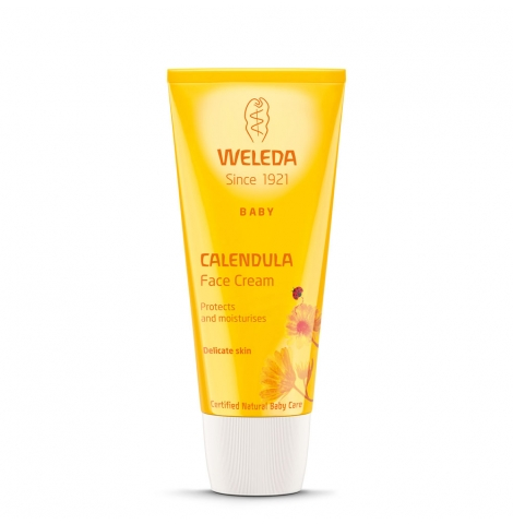 WELEDA Baby - calendula baby face cream, 50ml