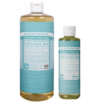 DR. BRONNER'S - pure castile soap, baby (unscented)