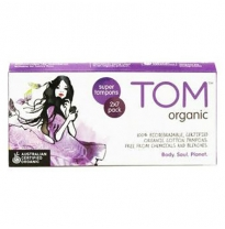 TOM organic - super tampons, 14pack