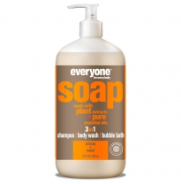 everyone for everybody - 3 in 1 soap, citrus & mint 946ml
