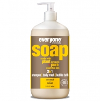 everyone for everybody - 3 in 1 soap, coconut & lemon 946ml
