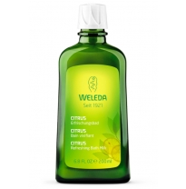 WELEDA - citrus refreshing bath milk, 200ml