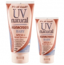 UV Natural - 30+ spf sunscreen, baby