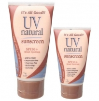 UV Natural - 30+ spf sunscreen, family