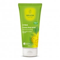 WELEDA - citrus creamy body wash, 200ml