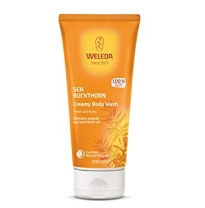 WELEDA - sea buckthorn creamy body wash, 200ml
