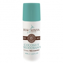 ECO by SONYA - coconut deodorant, 60ml roll-on