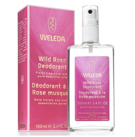 WELEDA - wild rose deodorant, 100ml