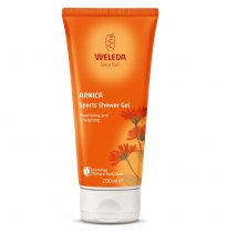 WELEDA - arnica sports shower gel, 200ml