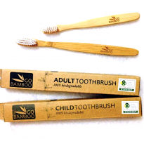 Go Bamboo - biodegradable toothbrush