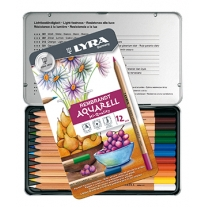 LYRA - Rembrandt aquarell watercolour pencils, 12 pack