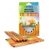 LYRA - super ferby pencils, unlacquered, waldorf selection