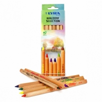 LYRA - super ferby pencils, unlacquered, waldorf selection 6pk