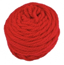 Ozi Wool - 16 ply wool yarn 50g, carmine red