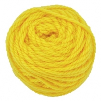 Ozi Wool - 16 ply wool yarn 50g, gold yellow