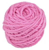Ozi Wool - 16 ply wool yarn 50g, light pink