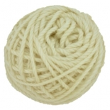 Ozi Wool - 16 ply wool yarn 50g, natural unprocessed